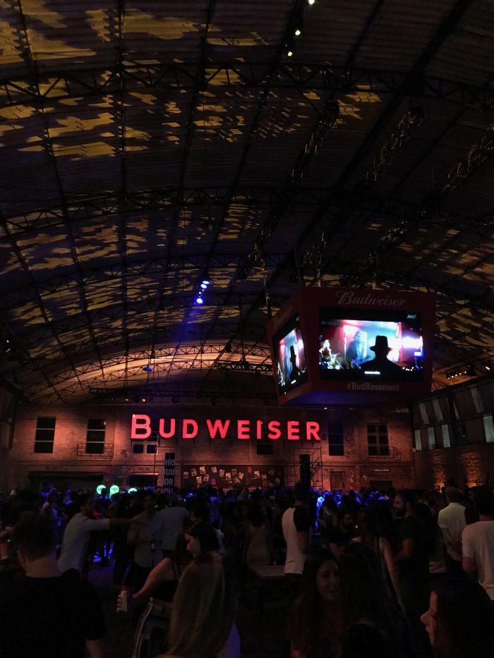 Budweiser Basement São Paulo