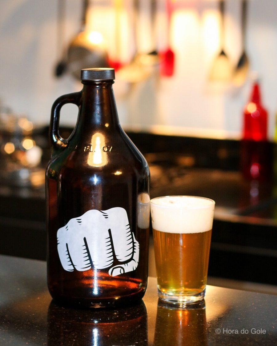 Growler de cerveja