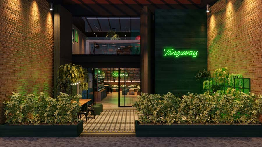Pop up Bar da Tanqueray