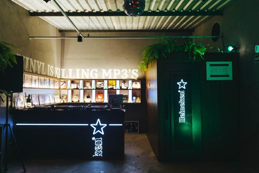 Heineken Fiel Discos